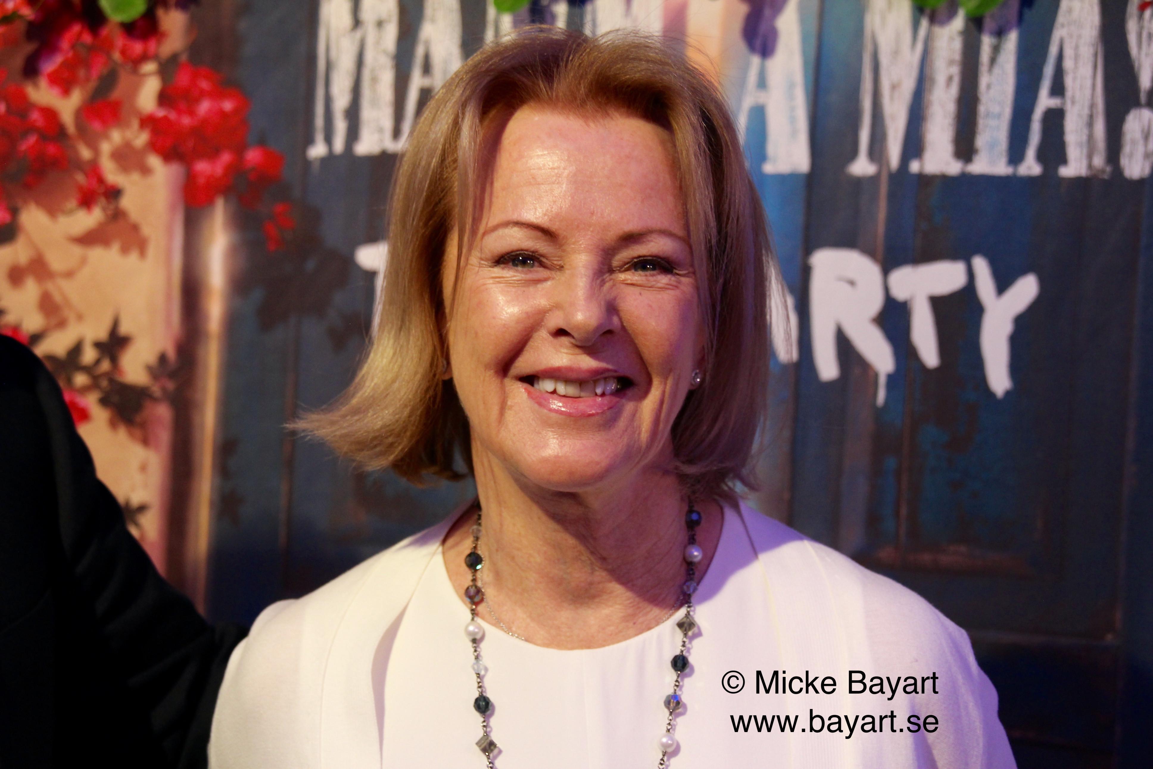 Anni-Frid Lyngstad (ABBA), 2016..
